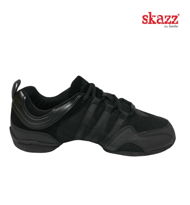 Sneakersy do tańca Sansha Solo Nero