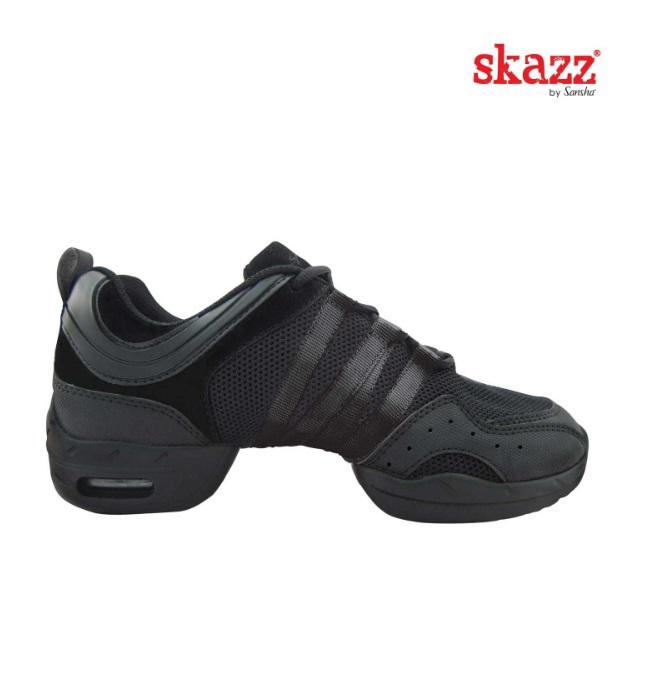 Sneakersy do tańca Sansha Tutto Nero